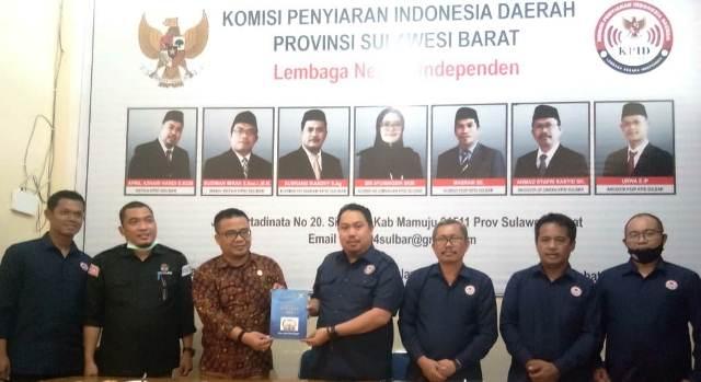 KPID Sulbar Terima Kunjungan KPU Majene