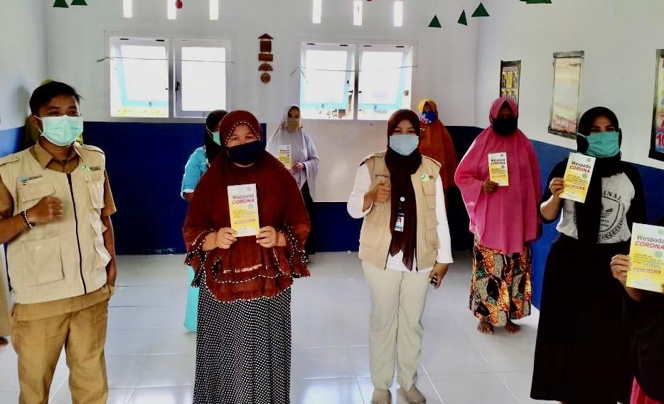 Tingkatkan Kesadaran Cegah Covid-19, Yayasan Karampuang bersama PPTEP Indonesia Gelar Sosialisasi