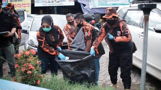 MPC Pemuda Pancasila Mamuju Kembali Sukseskan World Cleanup Day 2020