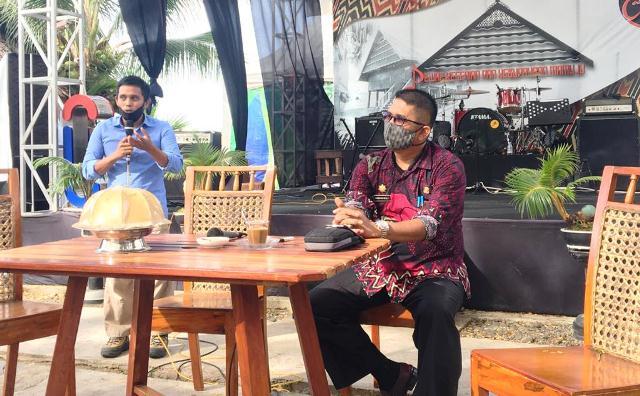 Rahman Apresiasi Sejumlah Komunitas dan Pemuda Pancasila Mamuju Sukseskan WCD 2020