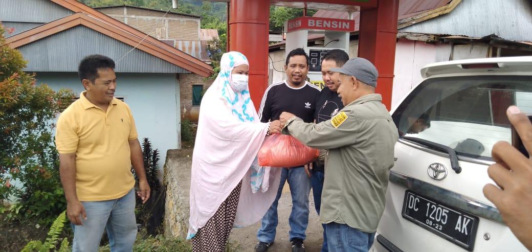KPID Sulteng Hadir untuk Korban Gempa di Mamuju