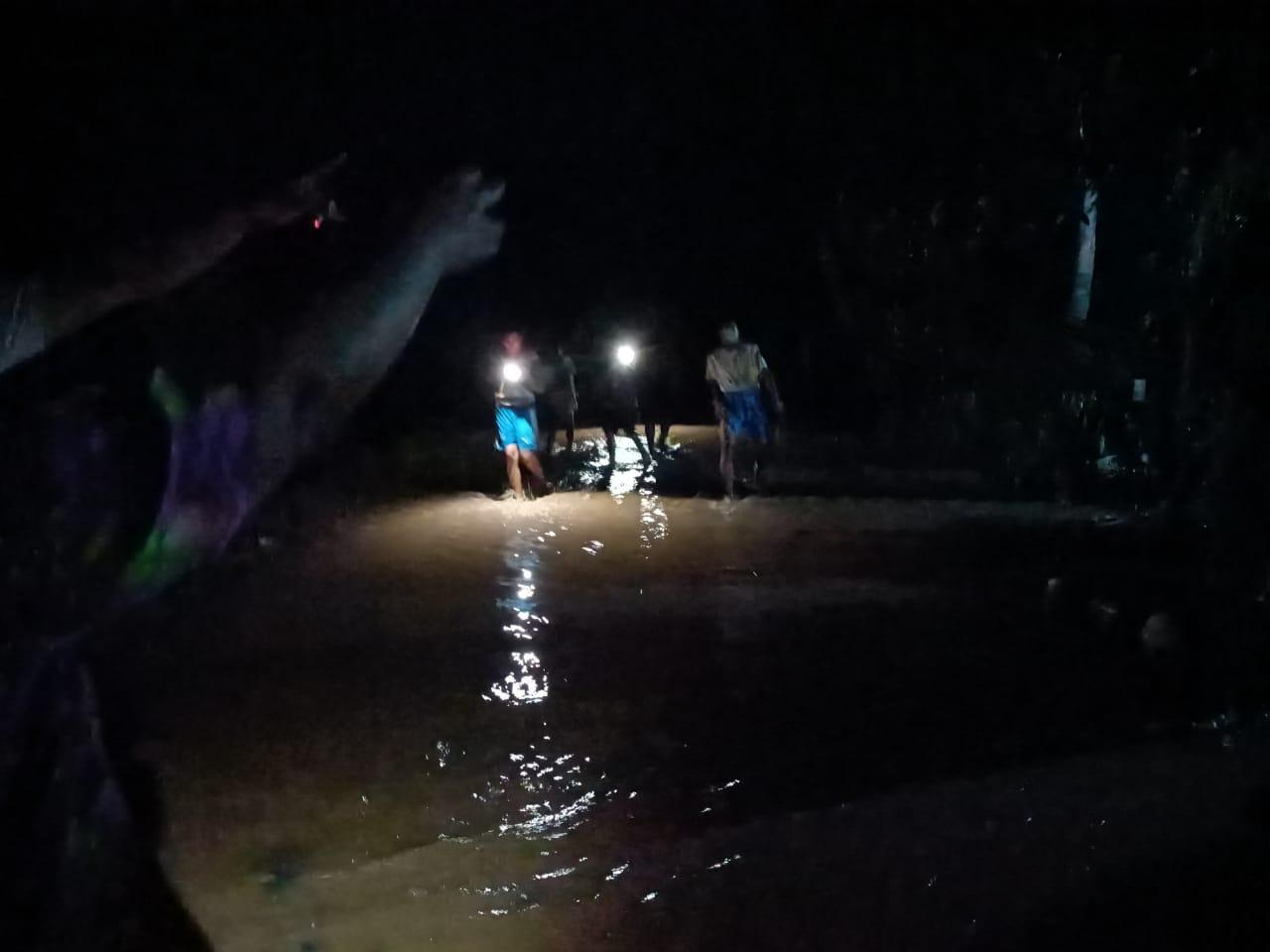 Banjir di Tabulahan, Puluhan Rumah Warga Terendam