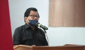 Ketua DPW NasDem Sulbar, Anwar Adnan Saleh. (Ft. Zul)